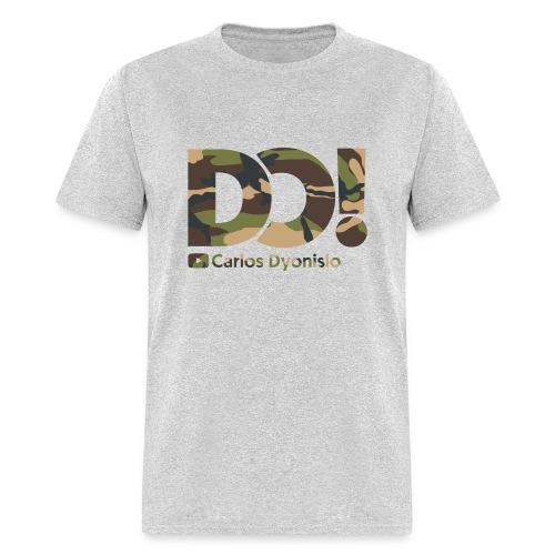 Camo on Grey DO! T-Shirt - Men's T-Shirt
