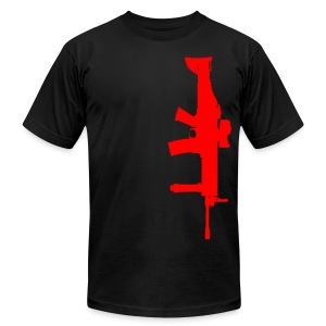 AA SCAR T-Shirt - Men's Fine Jersey T-Shirt