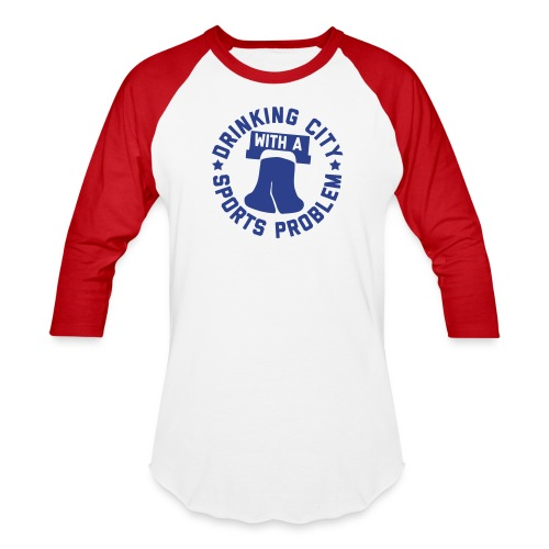 Drinking City with a Sports Problem - Baseball T-Shirt