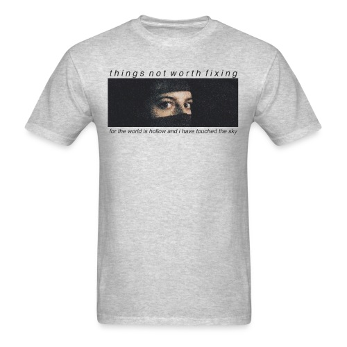 Kat Eyes (Gray) - Men's T-Shirt