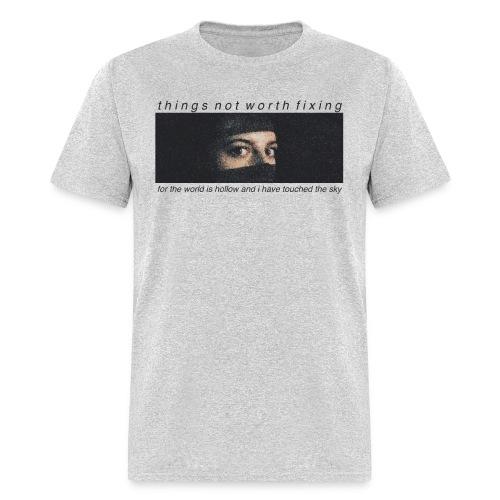 Kat Eyes (Gray) - Men's T-Shirt