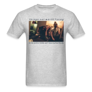 Mackie and Audrey (Gray) - Men's T-Shirt
