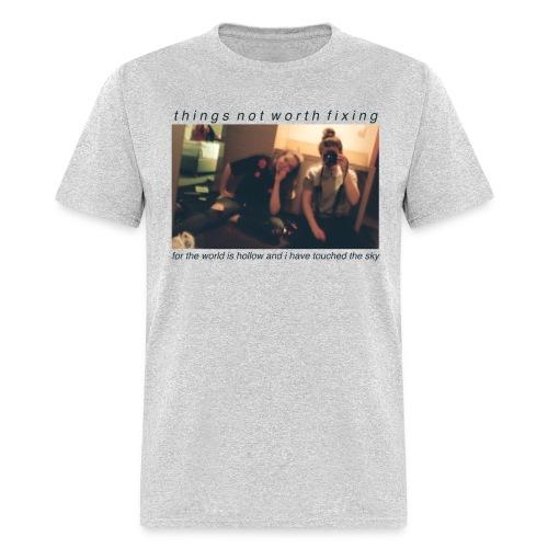 Mackie and Audrey (Gray) - Men's T-Shirt