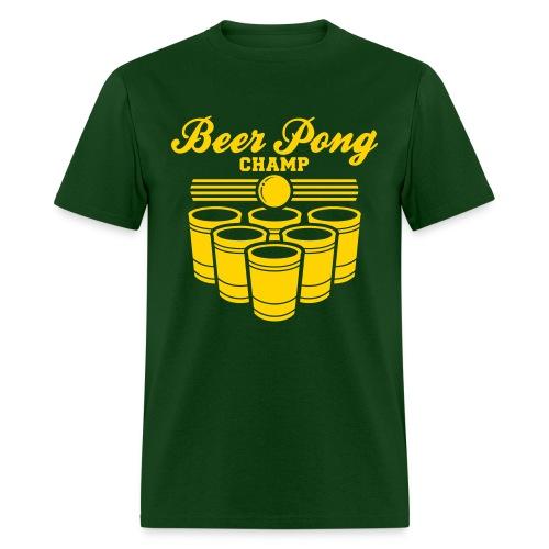 Beer Pong Champ - Men's T-Shirt