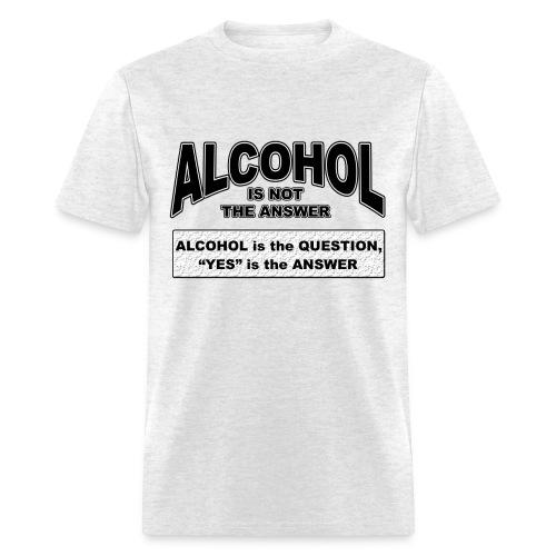Alcohol - Men's T-Shirt