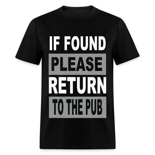 Return To Pub - Men's T-Shirt