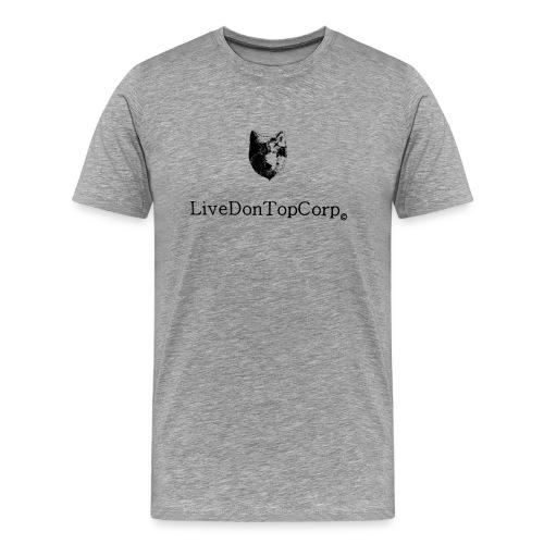wolf is live - Men's Premium T-Shirt