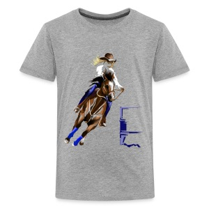BARREL HORSE - Kids' Premium T-Shirt