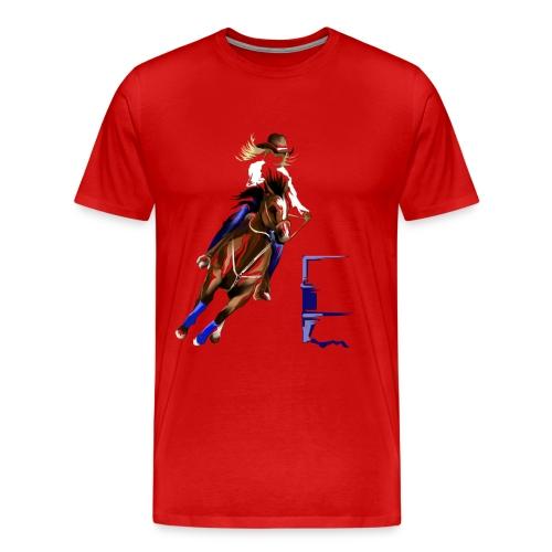 BARREL HORSE - Men's Premium T-Shirt