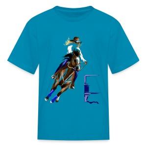 BARREL HORSE - Kids' T-Shirt