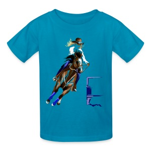 BARREL HORSE - Kids' T-Shirt
