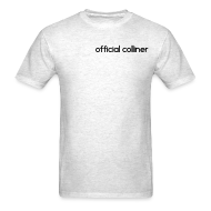 T-Shirts ~ Men's T-Shirt ~ OFFICIAL COLLINER (GUYS)