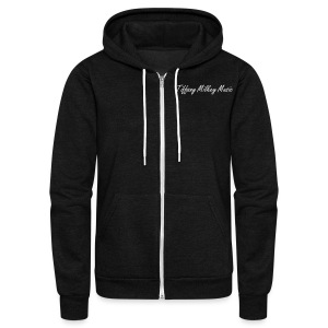 Crazy ones with Tough Love *Limited Edition* - Unisex Fleece Zip Hoodie by American Apparel