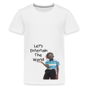 The Quote Of Style (Kids) - Kids' Premium T-Shirt
