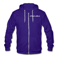 Zip Hoodies & Jackets ~ Unisex Fleece Zip Hoodie by American Apparel ~ OFFICIAL COLLINER ZIPPY (American Apparel)