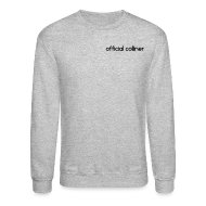 Long Sleeve Shirts ~ Crewneck Sweatshirt ~ OFFICIAL COLLINER HOODIE/SHIRT
