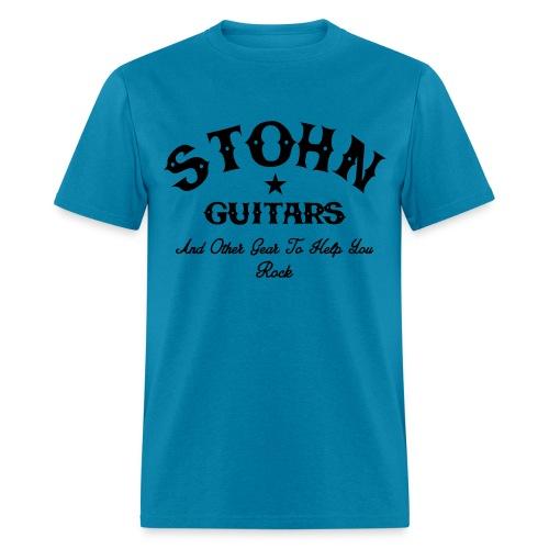 Stohn Rocker 2 Basic Tee (Black) - Men's T-Shirt