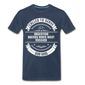 Argentina Buenos Aires West Mission - Called To Serve - White - Men's Premium T-Shirt