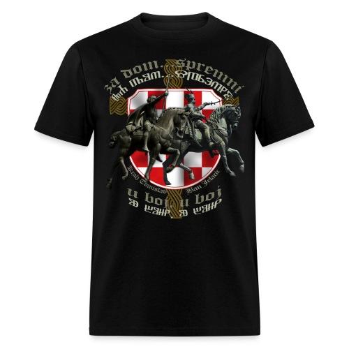 Za dom Ban Jelacic kralj Tomislav - Men's T-Shirt