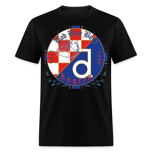 Croatia Hrvatska Dinamo Zagreb Bad Blue Boys - Men's T-Shirt
