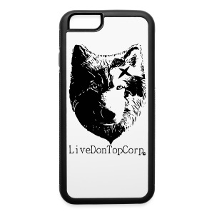 On top wolf phone case - iPhone 6/6s Rubber Case
