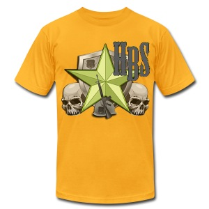 A3 - Retro Men's T-Shirt by American Apparel - Men's Fine Jersey T-Shirt