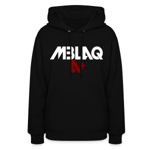 MBLAQ A+ in White/Red on Women's Hoodie - Women's Hoodie