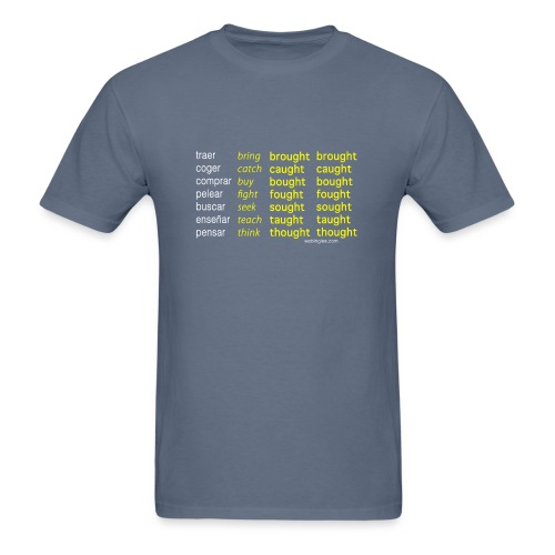 Verbos Irregulares que Riman - Men's T-Shirt