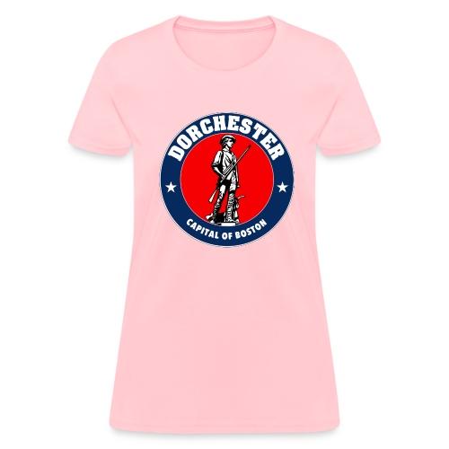 Capital of Boston - Dorchester Minuteman - Ladies - Women's T-Shirt