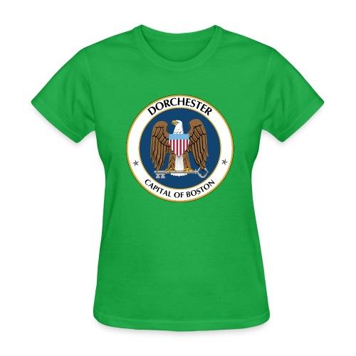 Capital of Boston - NSA - Ladies - Women's T-Shirt
