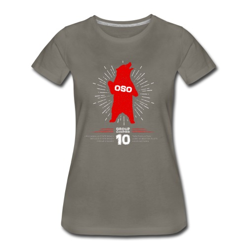 Oso Camp 2017_WOMENS - Women's Premium T-Shirt