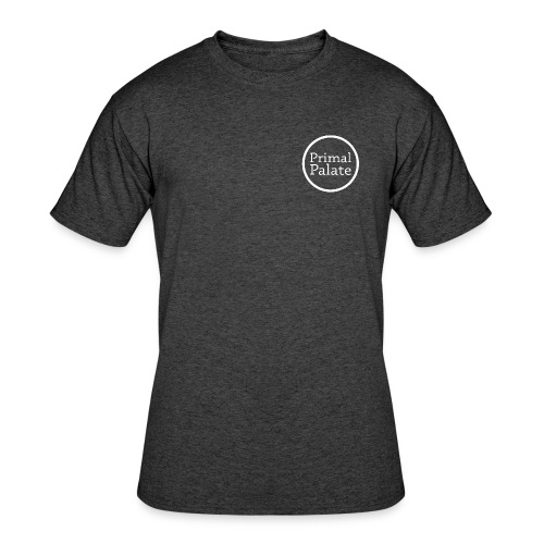 Primal Palate Circle Logo - Men's 50/50 T-Shirt