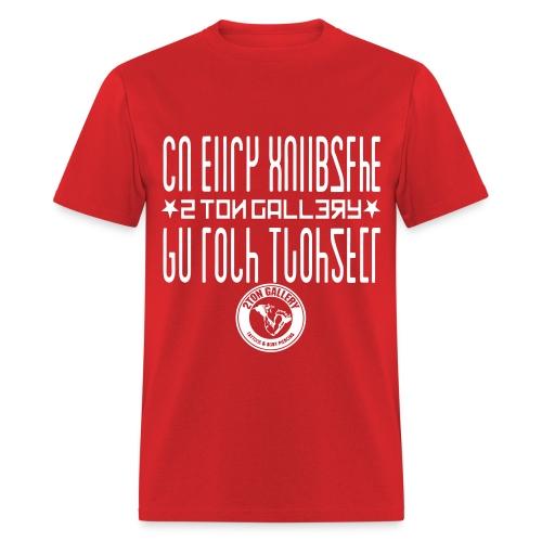 2Ton Hidden Message Shirt - Men's T-Shirt