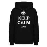 Hoodies ~ Women's Hoodie ~ Keep Calm and Play Soccer