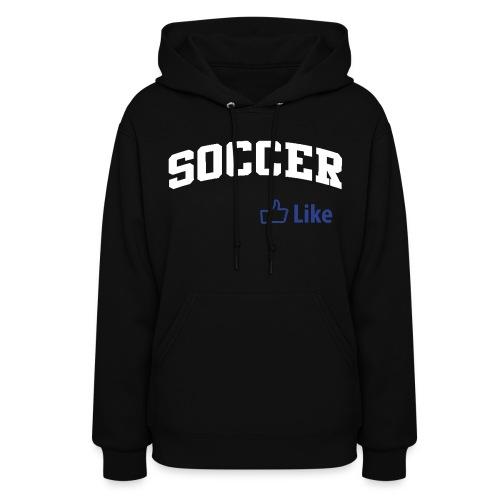 Soccer, Facebook Like - Women's Hoodie