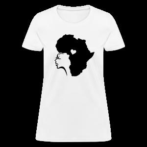 Hair Africa - Women's T-Shirt