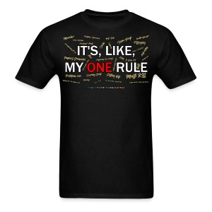 My One Rule T-Shirt, Men's - Men's T-Shirt
