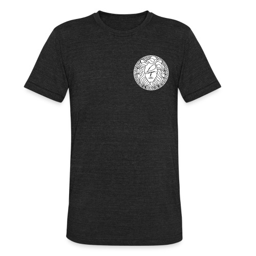 Mouth of truth Small Logo - Unisex Tri-Blend T-Shirt