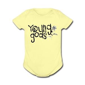 Baby Gods - Short Sleeve Baby Bodysuit