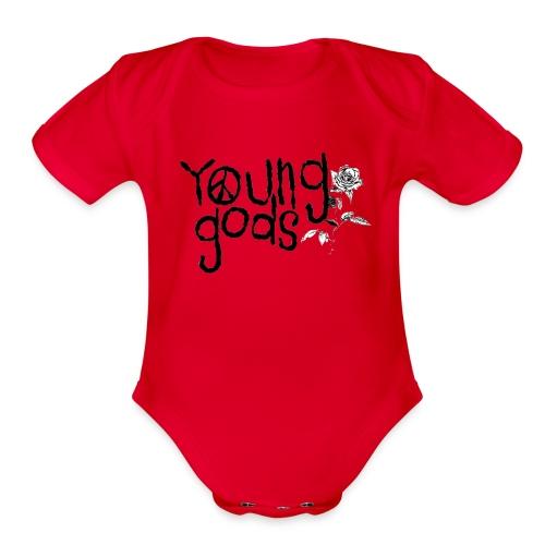 Baby Gods - Organic Short Sleeve Baby Bodysuit