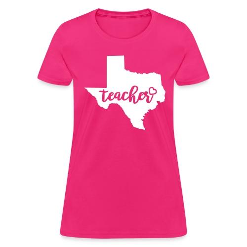 texas teacher - Women's T-Shirt