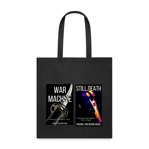Destiny in the Shadows: War Machine and Still Death Cover Tote Bag - Tote Bag