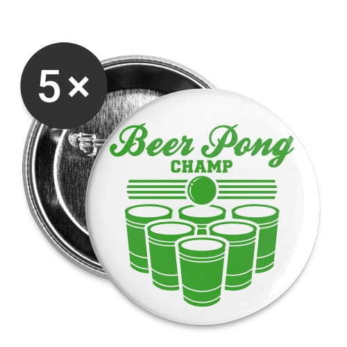 Beer Pong Champ - Large Buttons