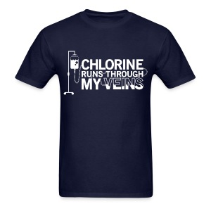 [SALE] Chlorine Runs Through My Veins - T-Shirt - Men's T-Shirt