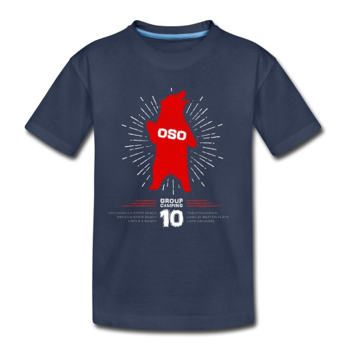 Oso Camp 2017_Kids - Kids' Premium T-Shirt