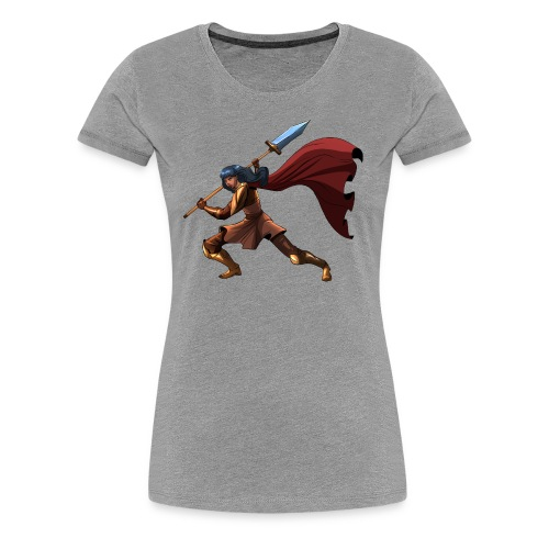 Kumara Thamro Battle Ladies Cut - Women's Premium T-Shirt