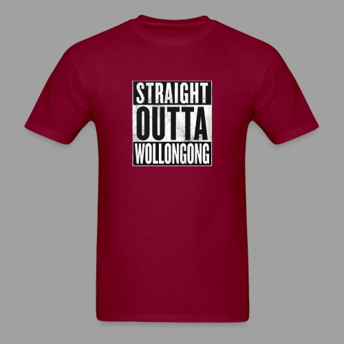 Mustang Mens Straight Outta Wollongong Shirt - Men's T-Shirt