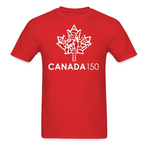 Canada 150 Red - Men's T-Shirt