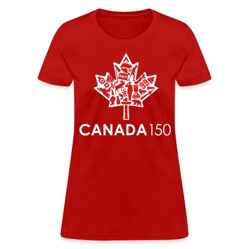 Canada 150 Womens - Red - Women's T-Shirt