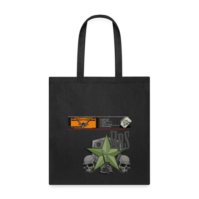 L2 - WARNING RETRO Tote Bag